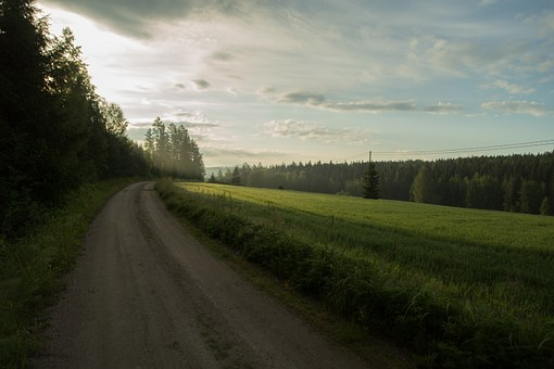 Countryside, Landscape, Finnish, Milieu, Agriculture