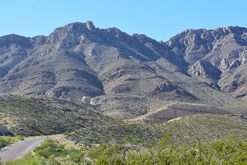 Franklin Mountains State Park, Texas, Path, Landscape
