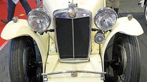 Oldtimer, Mg, Old Car, Nostalgia, Classic, Historically