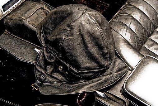 Oldtimer, Car Accessories, Black, Grey, Leather