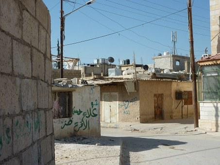 Palestinians, Lebanon, Amman, City, Poor