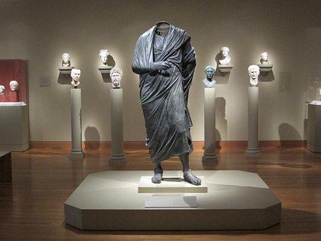 Statue, Marcus Aurelius, Sculpture, Roman, Soldier