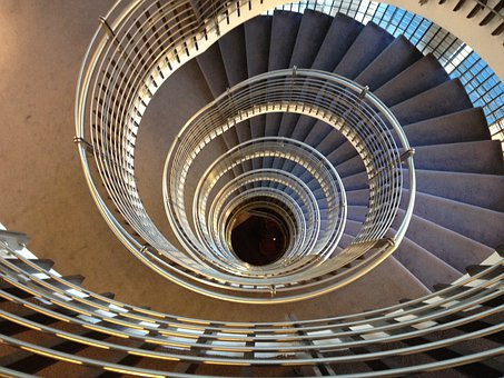 Spiral Staircase, Stairs, Staircase, Architecture
