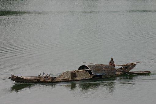 Transport, Water, Barca, Boat, Channel, Work