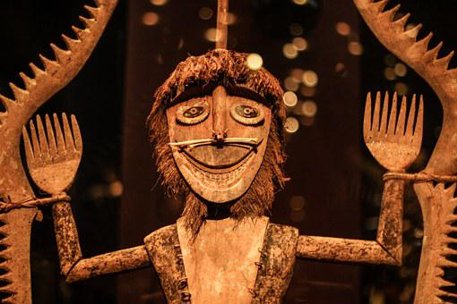 Museum, Mask, Africa, African, Cult, Art From Asia