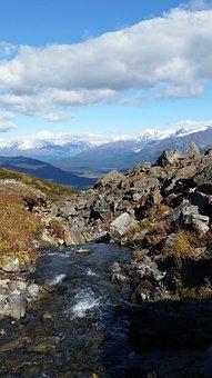 Seward, Alaska, Mountains, Stream