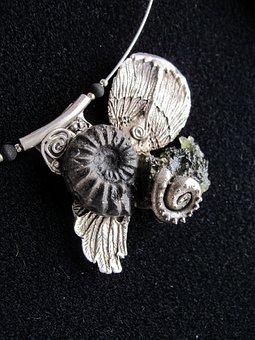 Art, Jewelry, Silver, Art Clay Silver, Angel