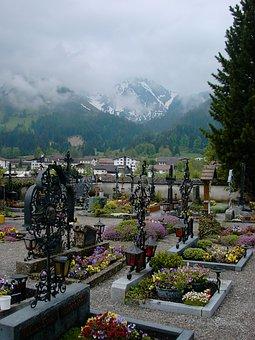 Cemetery, Tyrol, Cross, Wrought Iron, Art, Grave