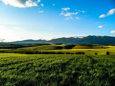 Baranec, Liptov, Sky, Meadow, Field, Mountain, Slovakia