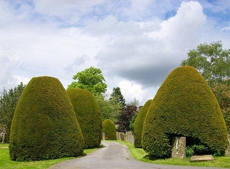 Baslow, England, United Kingdom, Sky, Clouds, Trees