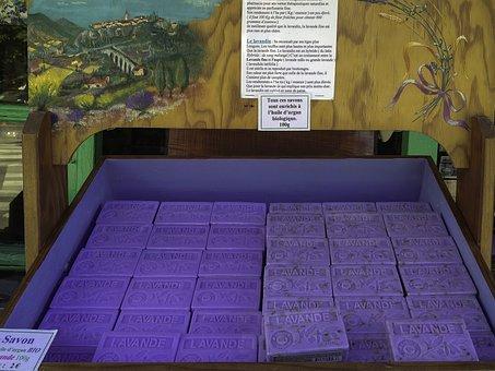 Lavender Soap, Bio, Lavender, Argan Oil, Provence, Shop