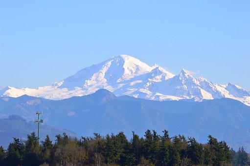Mt Baker, Mountain, Whatcom County, Washington, Cascade