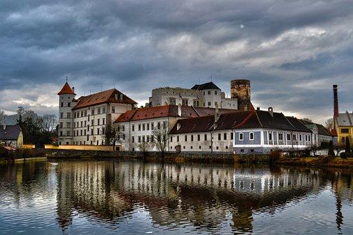 Castle, Hdr, Autumn, Jindřichův Hradec
