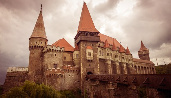 Castle, Hunedoara, Medieval, Transylvania, Fortress