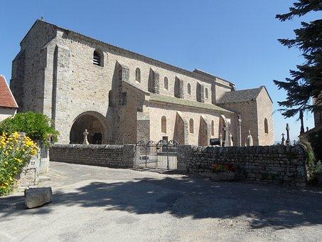 Mont Saint Vincent, Church, Romanesque, Religious