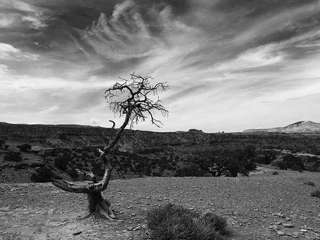 Panorama Stitch, Teasdale, Landscape, Nature, Clouds