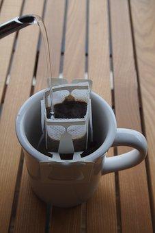 A Drip Bag, Coffee, Restaurant