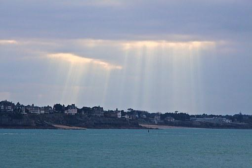 Saint Malo, Sea, Ocean, Brittany, Dinard