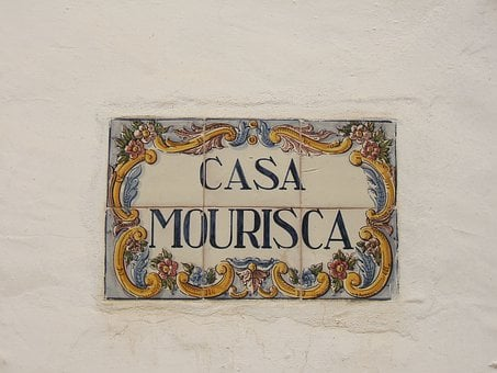 Portugal, House, Door Name, Decorated, Sign, Home