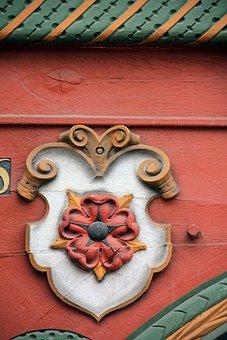 Decor, Truss, Fachwerkhaus, Home, Building, Carving
