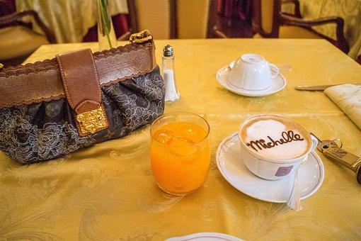 Florence, Italy, Cappucino, Hotel, Breakfast