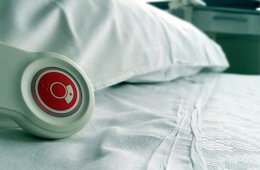 Hospital, Bed, Nurse