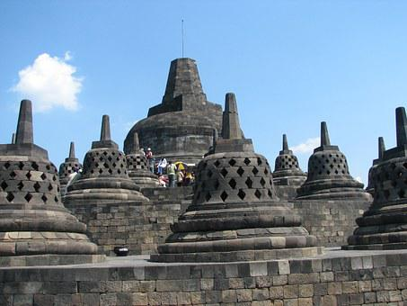Temples, Indonesia, Holiday, Borobudur