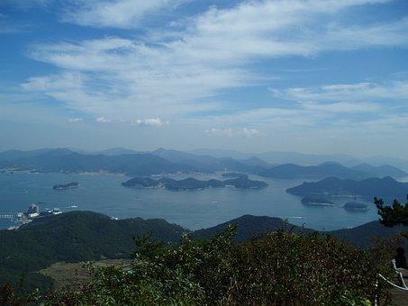 Coastal, Sea, Landscape, Nature, Cloud, Travel, View
