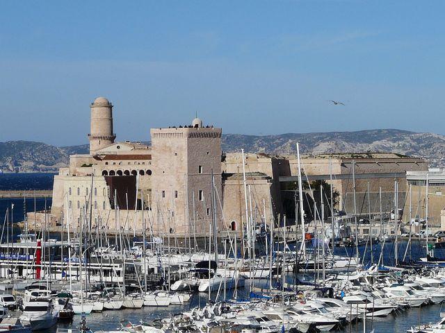 Marseille, France, Fort Saint John