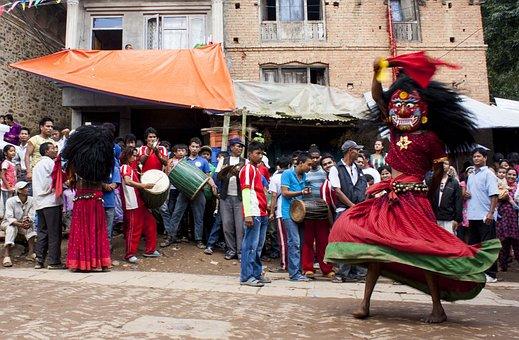 Lakhe, Festival, Nepal, Religion, Ritual Nepal, Ritual