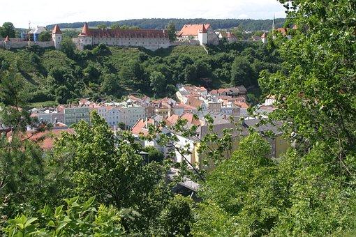 Burghausen, Old Town, Castle, Middle Ages, Bavaria