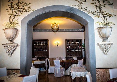 Italian, Restaurant, Elegant, Painting, Floral