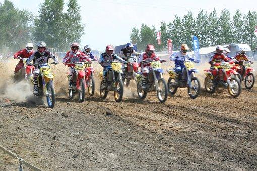 Motocross, Sport, Saint-éloi, Morlanwelz, Race, Speed