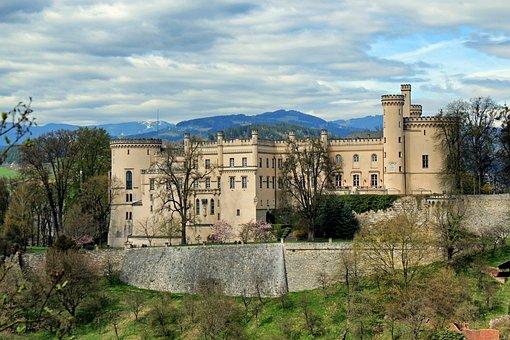 Wolfsberg, Austria, Landscape, Scenic, Castle, Fortress
