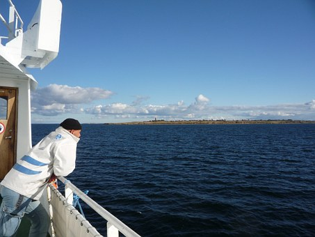 Man, Human, Boot, Fishing Boat, Sailor, Denmark, Sea