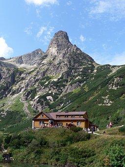 Vysoké Tatry, Slovakia, Mountains, Country