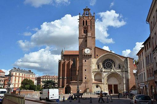Toulouse, Cathedral Saint Etienne, Place