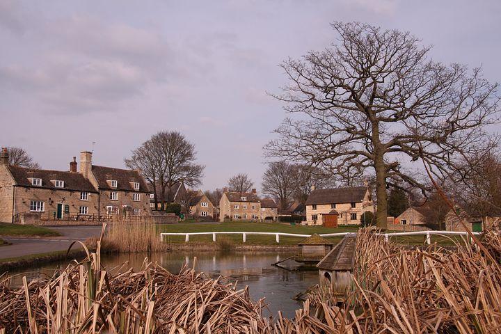 Barrowden, Village Pond, Nature