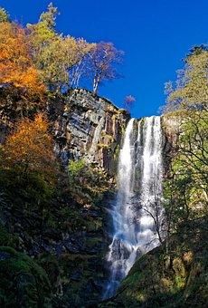 Waterfall, Waterfall Landscape, Water, Landscape