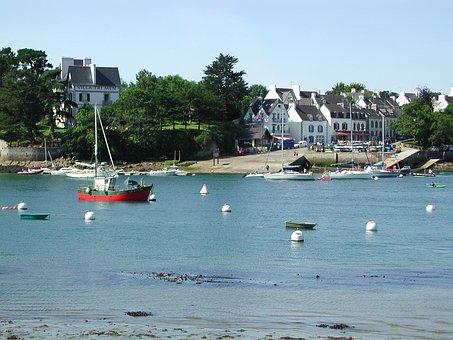 Sainte Marine, France, Brittany, Fishing Boat, Boat