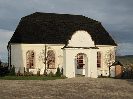 Attmars Church, Sweden, Exterior, Building, Religious