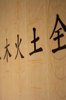 Writing, Japanese, Poster, Symbols, Calligraphy, Asian