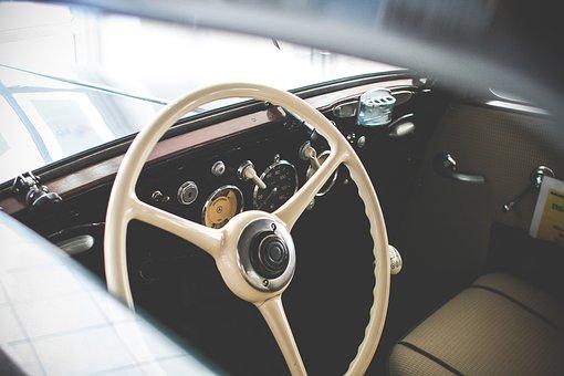 Car, Drive, Automobile, Retro, Steer, Classic, Vintage