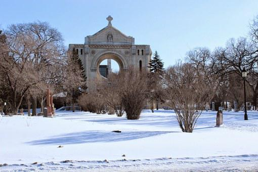 Cathedral, Ruins, St Boniface Cathedral, Winnipeg