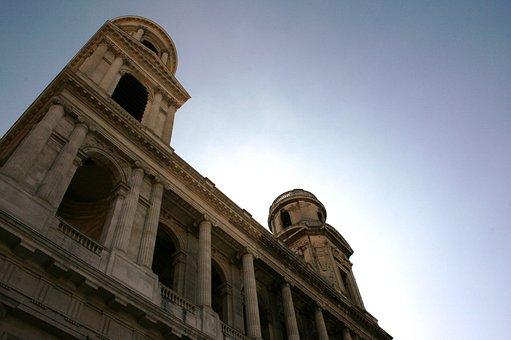 Saint Sulpice, Church Tower, Paris