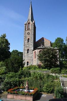 Church, Monument, Cultural, Bad, Berleburg
