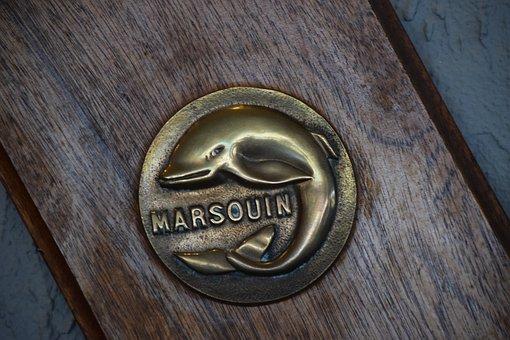Dolphin, Iron, Sign, Submarines, Atlantic Marsouinade