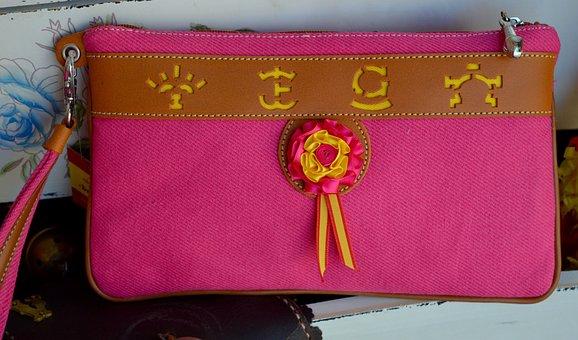 Taurine, Fashion, Women, Gar, Ource, Pink, Bag