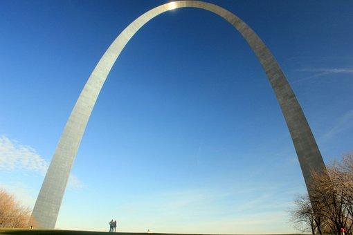 Gateway Arch, Architecture, Monument, St Louis