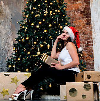 New Year's Eve, Christmas, Christmas Tree, Gift, Gifts